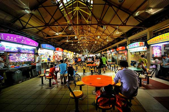 Maxwell Hawker Center, Singapore